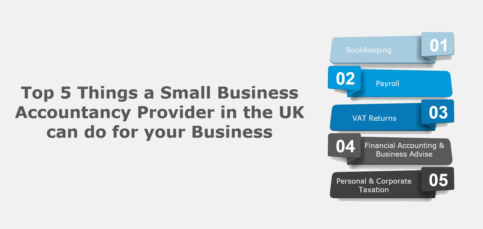 Top 5 Things a Small Business Accountancy Provider in the UK can do for your Business