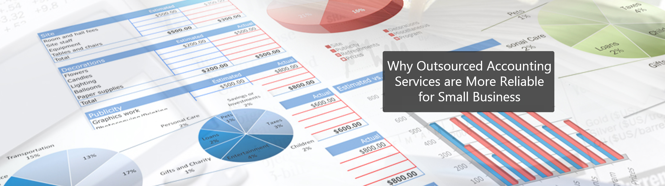 Why Outsourced Accounting Services are More Reliable for Small Business